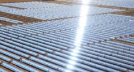 A large scale implementation of Solar Panles at Shams1, Abu Dhabi. U.A.E.